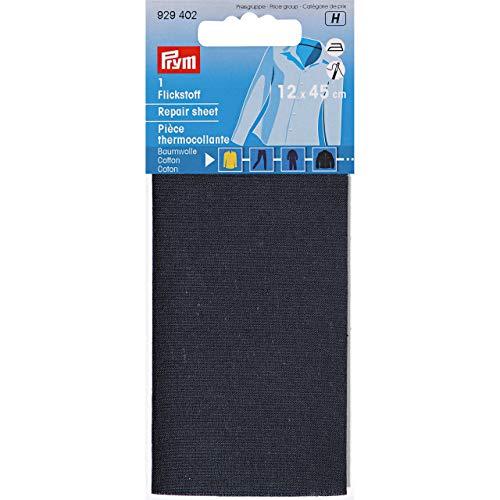Prym Feuille De Réparation Thermocollante, Cotton, Bleu Marine, Taille 14 x 7 cm