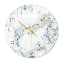壁掛け時計1個北欧大理石壁掛け時計モダンミニマリスト寝室アート時計パーソナリティクリエイティブリビングルームファッションウォールウォッチ、C