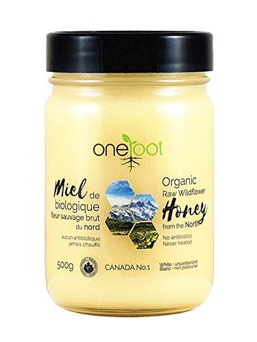 100 certified organic raw honey - 2