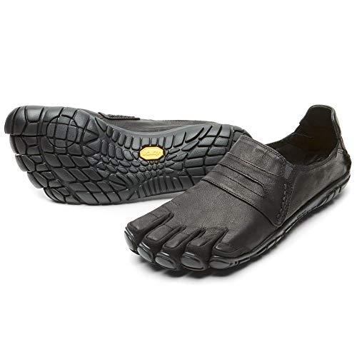 Vibram Five Fingers Men's CVT-Hemp Minimalist Casual Walking Shoe (40 EU/8-8.5, Black Leather) (Black Leather, Numeric_10_Point_5)