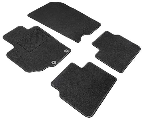 Walser Nadelfilz Velours Fußmatten kompatibel mit Suzuki SX4 S-Cross 08/2013-Heute