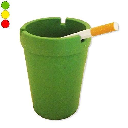 Ebiz Cendrier Odeur Stop Vert