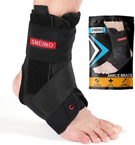 Ankle Brace for Women and Men Lace Up Adjustable Support Volleyball Ankle Braces Basketball product image