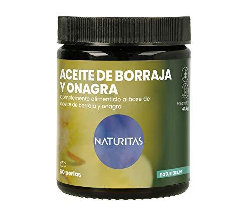 Aceite de Borraja y Onagra 60 Perlas | Contribuye a regular la...