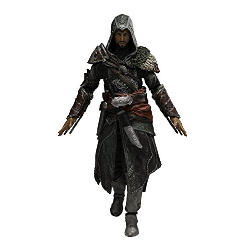 McFarlane Toys' Assassin's Creed Series 5 brings collectors new figures from the blockbuster video game franchise! This 6-inch figure depicts Tricolored Ezio Auditore. One of the last members of House Auditore, Ezio is regarded as the ultimate Renais...