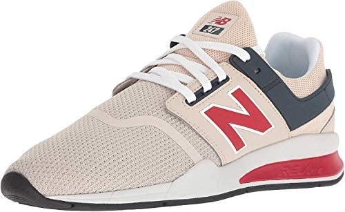 New Balance 247 Sneaker For Men, White/Red, 41.5 UE: Buy Online at ...