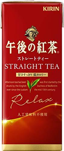 キリンビバレッジ 午後の紅茶 ストレートティー 250ml×24本