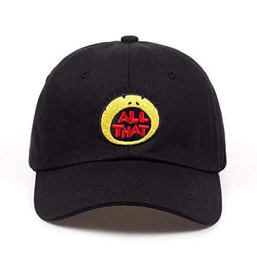 Baseballmütze Kappe Hut Cap Neu All That Stickerei Papa Hut Baumwolle Cartoon Baseball Caps Für Männer Frauen Hip Hop Snapback Golf Cap Hüte Bone Garros
