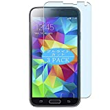 VacFun 3 Piezas Filtro Luz Azul Protector de Pantalla, compatible con Samsung Galaxy S5 Plus G901F, Screen Protector Película Protectora(Not Cristal Templado) NEW Version
