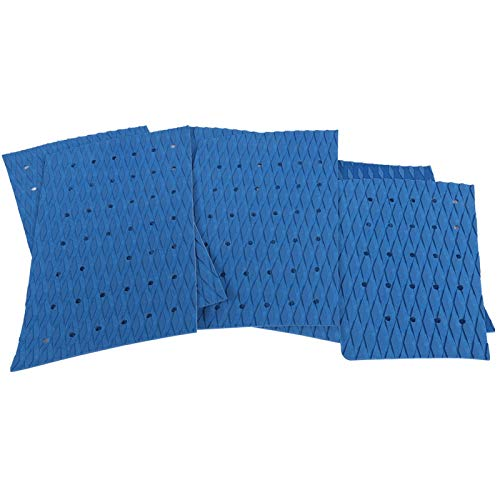 Guoshiy Práctica Almohadilla de tracción Delantera para Tabla de Surf, Almohadilla de tracción para Tabla de Surf Skimboard, práctica, Firme, no tóxica, portátil para Tabla de Surf Longboard(Blue)