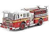 Editorial Salvat 2010 Seagrave Marauder Fire Truck Bomberos New York Rojo/Blanco 1:43 SP02