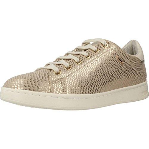 Geox D Jaysen A, Zapatillas para Mujer, Dorado (Lt Gold), 35 EU