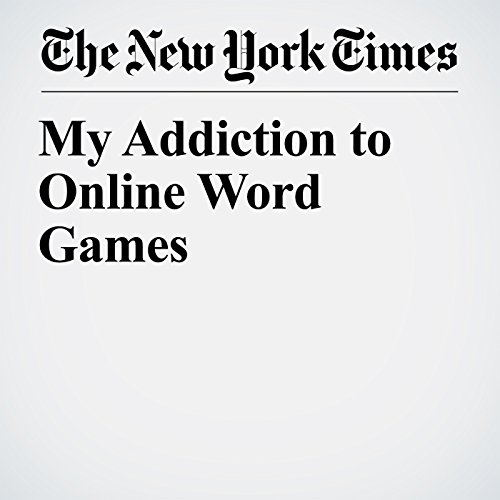 My Addiction to Online Word Games copertina