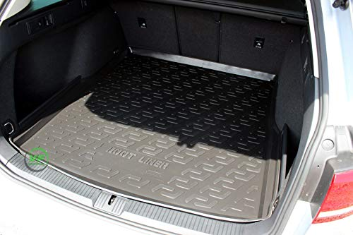 J&J AUTOMOTIVE N Premium Antirutsch Gummi-Kofferraumwanne Passat B8 Variant Kombi ab 2014