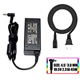 19.5V 2.31A Ac Adapter/Power Cord Supply fit for Hp Pavilion 11 13 15; elitebook Folio 1040 g1; Touchsmart 11 13 15; Spectre ultrabook 13; P/N: 719309-001 719309-003 740015-001 HSTNN-CA40 ADP-45WD B