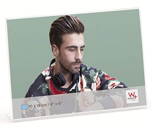 Walther Design acryl frame 9X13 liggend formaat fotolijst, transparant, 10 x 3 x 13 cm