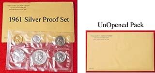 1961 Silver Proof Set with Silver Franklin Half Dollar-Original Unopened Set