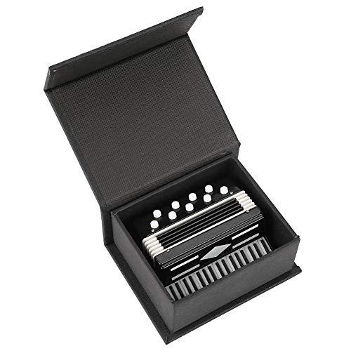 Sheens Pantalla de Modelo de acordeón en Miniatura Mini Instrumentos Musicales Decoración...