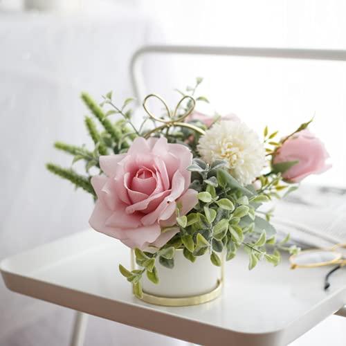 Simimic Blume Dekoration Gefälschte Blume Wohnzimmer Getrocknete Blume Couchtisch Dekorative Blumen Tisch Blume Pendelblume Blume Blumenstrauß
