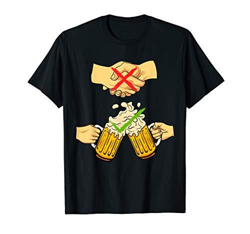 Lustiges Biertrinker Bier Bierglas Prost Party Alkohol Bier T-Shirt