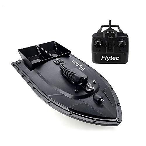 Goolsky Flytec Barco RC 2011-5 Buscador de Peces 1.5kg Carga de 500m Barco de Cebo de Pesca de Control Remoto 2.4GHz Barcos RC para Adultos y Niños