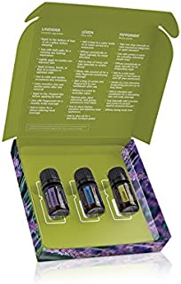 doTERRA Essential Oils Introductory Kit de 3 aceites.