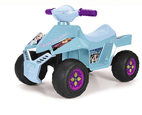 FEBER - Quad Racy Frozen 6V, Color Azul Claro (Famosa 800011785)
