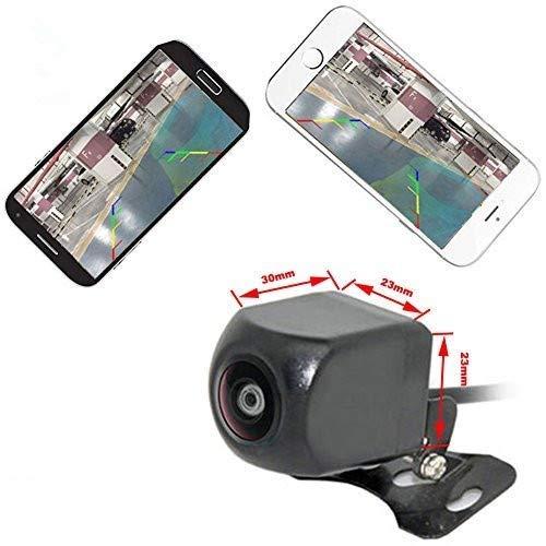 Auto Wayfeng WF Cámara de Seguridad para salpicadero de Coche con visión Nocturna HD, Impermeable, para iPhone y Android