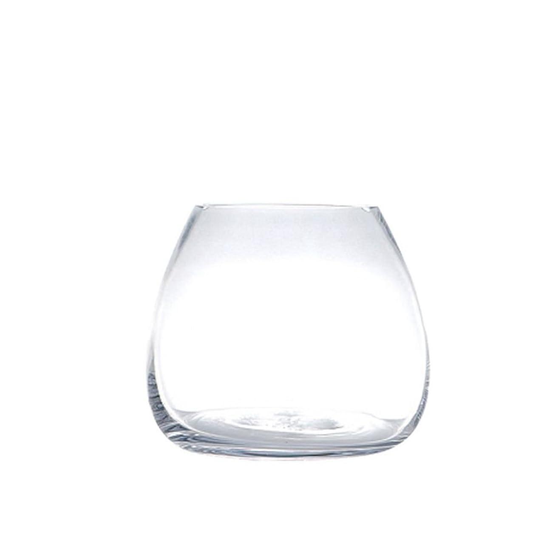 """透けて見える継承装置DULTON(ダルトン) 花瓶 ガラスベース プランプ"""" S GLASS VASE PLUMP S K565-483S"""