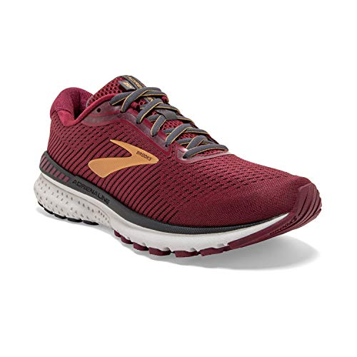 Brooks Adrenaline GTS 20 Red/Gold/Ebony 5 B (M)