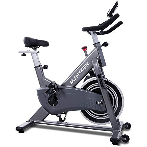 MaxKare Magnetic Exercise Bike Stationary Bike with Magnetic Resistance Indoor Cycling...