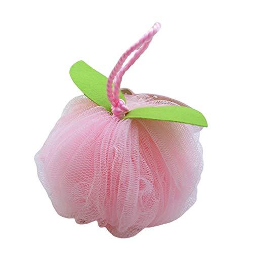 3pcs super doux petit bain boule de bain fleur couleur bonbon pomme balle Doux pour la peau (Color : Random mixing 3pcs)