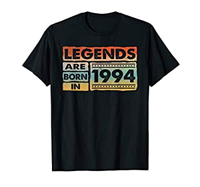 Legends Born In 1994 , 26th Birthday Gift 26 Yrs Years Old T-Shirt