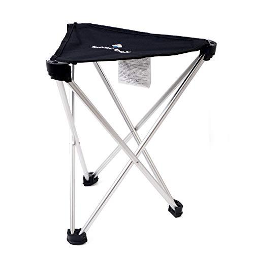 [モンベル] mont-bell トレールチェア 33 アウトドアチェア 超軽量 折りたたみ 座面高33cm 耐荷重80kg コンパクト キャンプ 椅子 ショップバッグ付き (ブラック)