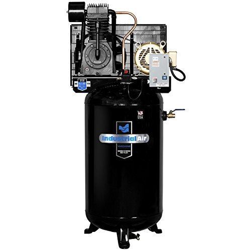 Industrial Air IV7568075 Vertical 80 gallon Two Stage Cast Iron Industrial Air Compressor