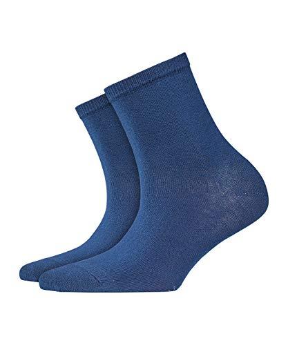 BURLINGTON Damen Socken Lady - Baumwollmischung, 1 Paar, Blau (Marine 6120), Größe: 36-41