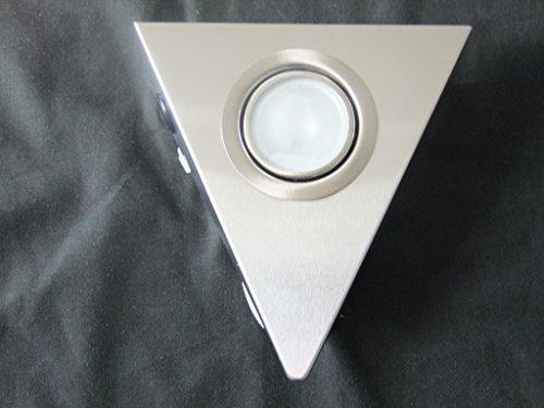 Halogen Dreieck-/ Unterbauleuchte mit Schalter 20W mit Kabel