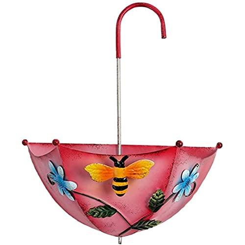 spier Metal Umbrella Flower Pot Wall Hanging Planter Flower Basket para la...