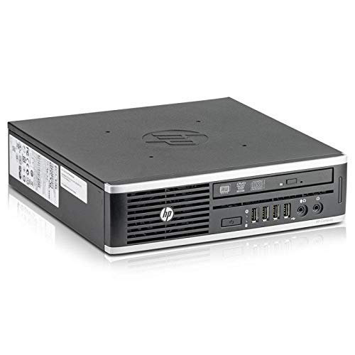 HP Elite 8300 USDT - Ordenador de sobremesa (Intel Core i5-3470S, 2.9 GHz, 4GB de RAM, Disco HDD 320GB, Lector, Windows 10 Home 64 bits) (Reacondicionado)