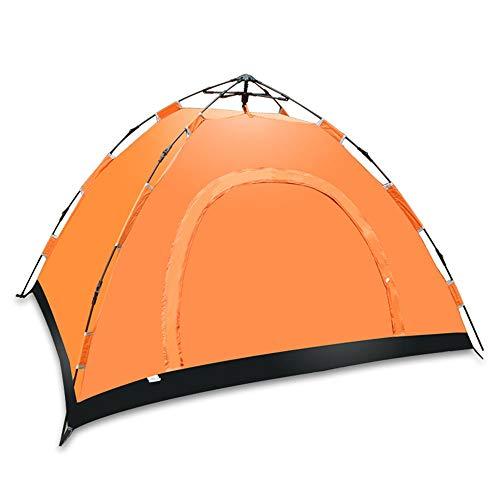 Tenda da campeggio - Completamente automatica antipioggia resistente agli urti Più traspirante Ampia e facile da trasportare - Ideale per 3-4 persone Escursionismo all'aperto Escursione in campeggio