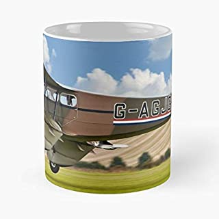 Dh89a Dragon Rapide G-agjg Classic Mug Coffee Tea - 11 Oz Mugs Unique Ceramic Novelty Cup, The Best Gift For Holidays
