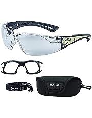 Bolle SAFETY ラッシュ プラス ガスケットキット & 布ポーチ付属 サバゲー グラス シューティング 保護 メガネ