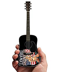 Lynyrd Skynyrd Girl With Flag Image Mini Acoustic Guitar Replica