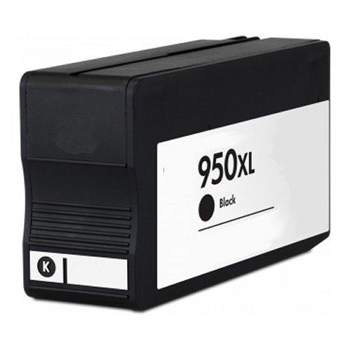 2inkjet© 2 Pack 950XL (CN045AN) Black Remanufactured Ink Cartridge for OfficeJet Pro 8100, 8600, 8600 Premium, 8610, 8620, 8630, 251dw, 276dw MFP Printer Photo #2