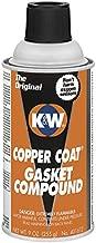 K&W 401612 Copper Coat Aerosol - 9 Wt Oz