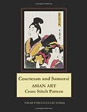 Courtesan and Samurai: Asian Art Cross Stitch Pattern