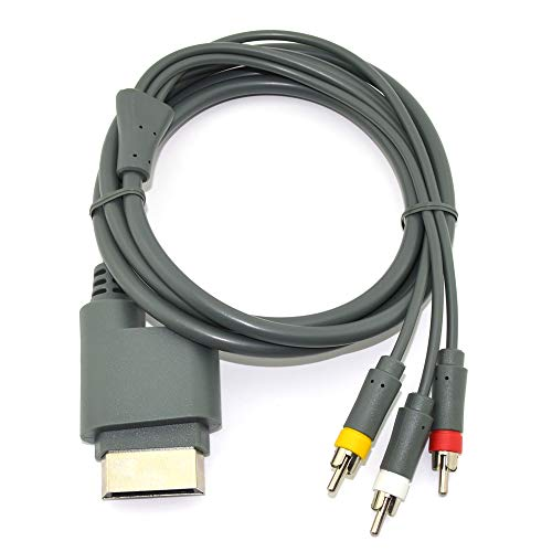 Wiresmith Standard RCA AV Composite Cable for Xbox 360