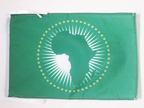 AZ FLAG Flagge AFRIKANISCHE Union 45x30cm mit Kordel - Afrika Fahne 30 x 45 cm - flaggen Top Qualität