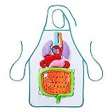 Comius sharp delantal de órganos en 3d, delantal de peluche con diseño de órgano, relleno delantal de órgano interno cuerpo, juguete educativo para casa y preescolar, ayuda al aprendizaje