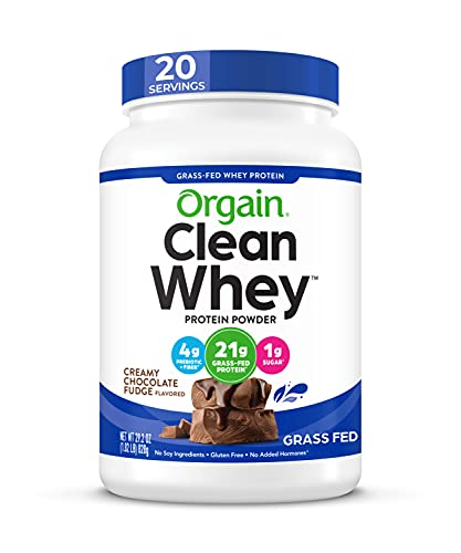 Orgain Grass Fed Clean Whey Protein…